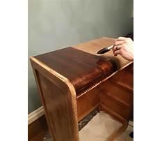 Refinishing wood veneer furniture.aspx Video