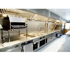 Restaurant kitchen design for electrical Video