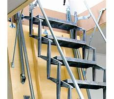 Retractable stairs outdoor plans and designs Video