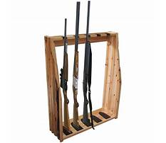 Rifle floor rack plans Video