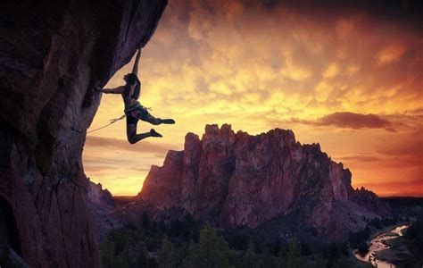 Rock Climbing Screensaver