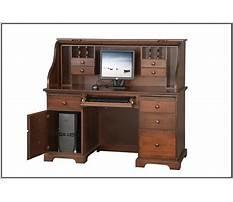 Roll top computer desk ikea Video