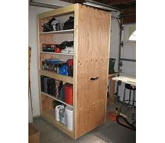 Rolling garage cabinet building plans Video