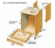 Rolling garage cabinet plans Video