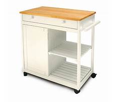 Rolling kitchen carts at lowes Video