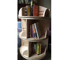 Rotating bookshelf diy Video
