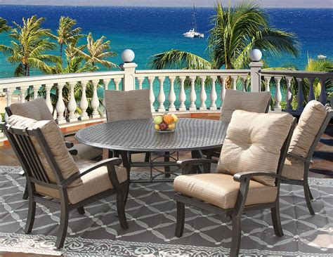 HD wallpapers mayfair 6 seater patio dining set