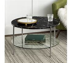 Round black coffee tables Video