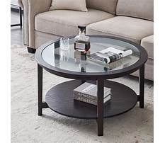 Round coffee table Video