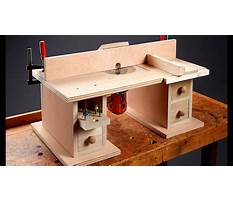 Router table plans diy Video