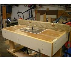 Router table plans uk Video