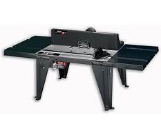 Router table tops Video