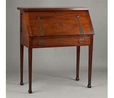 Roycroft antique drop front desk Video