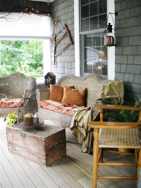 Rustic Decor Country Porch