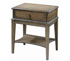 Rustic country end tables pine Video