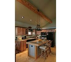 Rustic kitchen island top Video