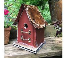 Rustic recycled bird house for sale Video