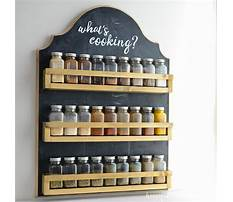 Rv wooden spice rack Video