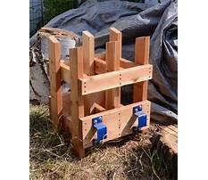 Sawbuck chainsaw plans Video