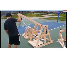 School catapult science project Video