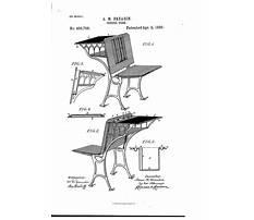 School desk patents Video