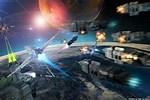 Sci-Fi Movie Space Battle Scene