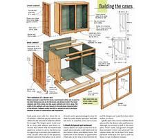Self build kitchen cabinet plans Video