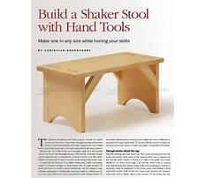 Shaker furniture patterns Video