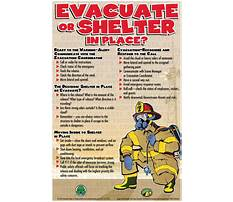 Shelter in place plans Video