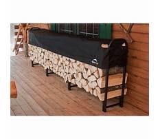 Shelterlogic covered firewood rack Video