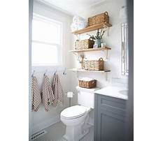 Shelving ideas for small bathrooms Video