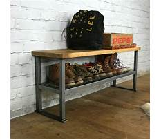 Shoe rack bench diy Video