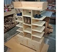 Shoe rack plans online Video