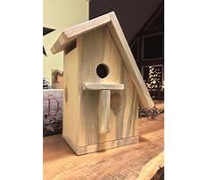 Simple birdhouse designs Video