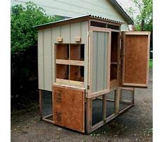 Simple chicken coop plans for free Video
