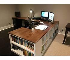 Simple homemade computer desk Video