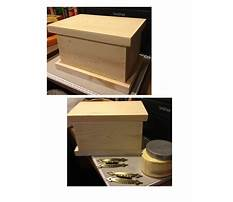Simple jewelry box plans Video