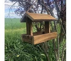 Simple wood bird feeders Video