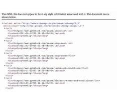 Sitemap xml file Video