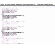 Sitemap xml schemas Video
