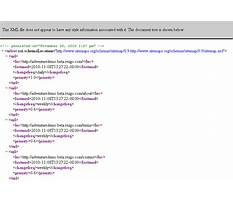 Sitemap xml syntax comment Video