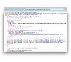 Sitemap xml syntax for  Video