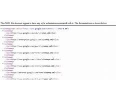 Sitemap xml syntax references format Video
