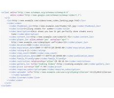 Sitemap14 xml schema examples Video
