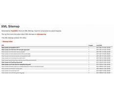 Sitemap14 xml tutorialpoint Video