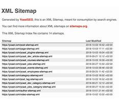 Sitemap14 xml viewer Video