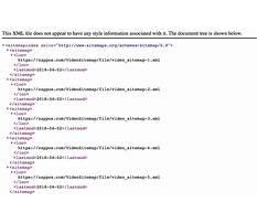 Sitemap77.xml Video