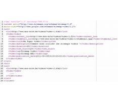 Sitemap8 xml editor Video
