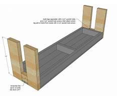Sitting bench plans.aspx Video