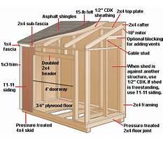 Slant roof shed plans Video